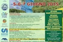 """xxvi-ma EDIZIONE DI """"PRIMAVERA IN MAREMMA"""" 5-6-7 giugno 2015 Allumiere Località Giovita"""