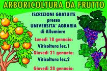 Corso gratuito di arboricoltura da frutto