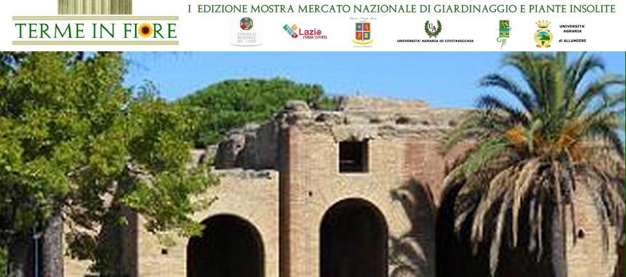 L'Università Agraria di Allumiere invita a partecipare a Terme in Fiore 15 e 16 ottobre 2016 alle terme di Traiano di Civitavecchia